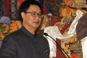 Congress trying to blame Rijiju for its sins: BJP