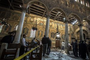 ISIS claims responsibility for Egypt church bombing