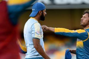 Pakistan bowlers clash in training ahead of Australia Test