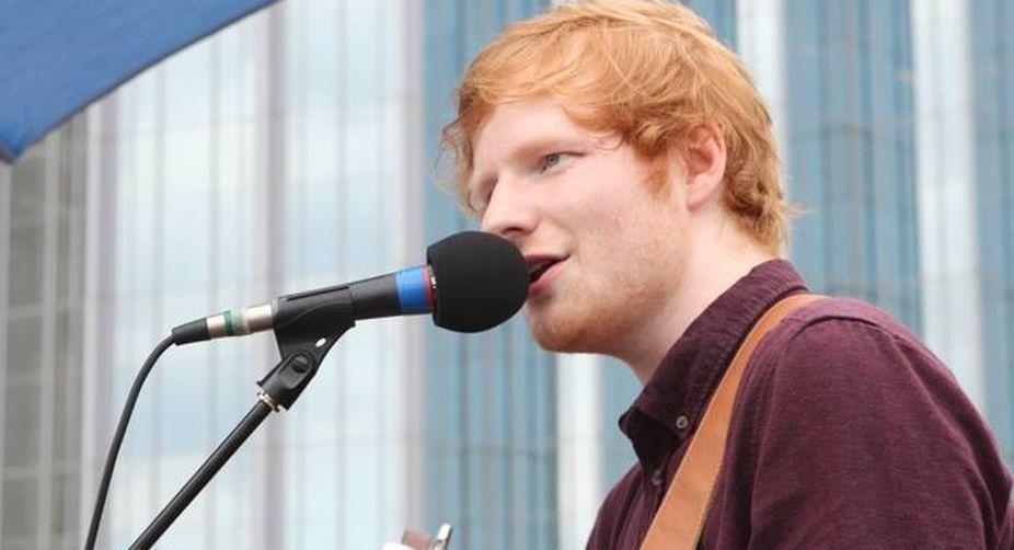 Taylor Swift's flourishing: Ed Sheeran