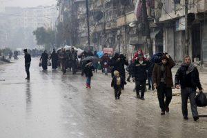 Aleppo rebel evacuation back on