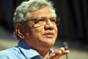 Trinamool-BJP feeding each other in Bengal: Sitaram Yechury