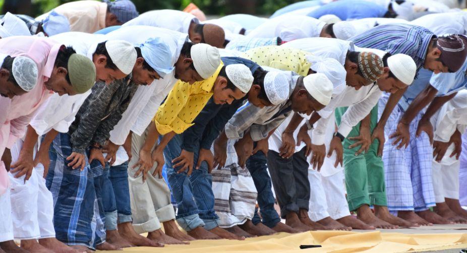 Namaz, HUDA ground, Gurugram, Muslims