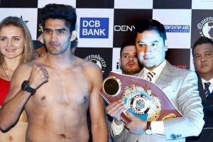 Vijender Singh eyes another knockout in WBO title defence