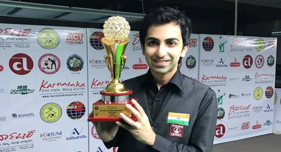Champion cueist Pankaj Advani cooks well under pressure
