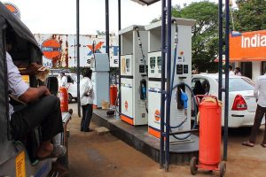Petrol price hiked by Rs.2.21/litre; diesel by Rs.1.79