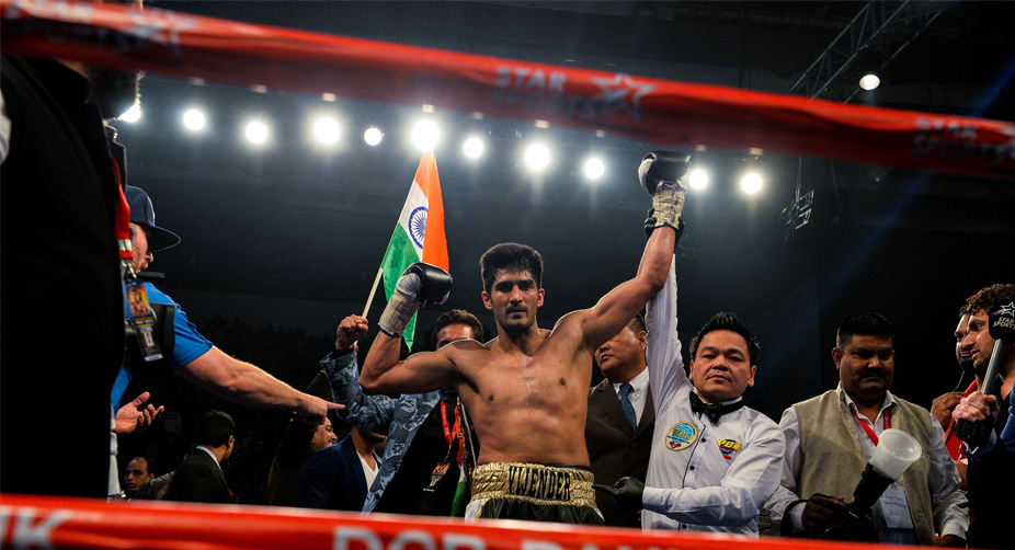 Vijender Singh, Commonwealth, World Championship title, Boxing