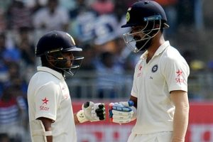 Chennai Test Day 3: India 173-1 at lunch against England