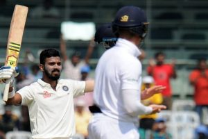 Chennai Test Day 3: Rahul strikes ton as India reach 256/3 at tea