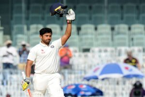 Chennai Test: Karun Nair's triple-ton drives India to record total