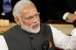 Demonetisation broke backs of terror, human trafficking: Modi