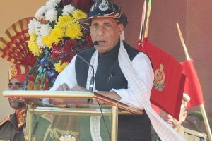 Enhanced facilities for women troops on borders: Rajnath