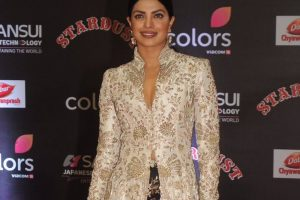 Priyanka Chopra dazzles at Stardust Awards 2016
