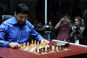 Anand joint third in London Classic