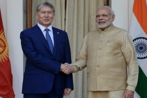 India, Kyrgyzstan sign 6 agreements, vow to fight terror jointly