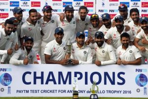 Chennai Test: Jadeja's 7/48, Nair's 303* help India win series 4-0