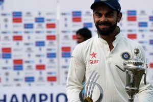 India finish 2016 at top of ICC Test Team Rankings