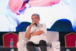 If you want news, we will give you: Parrikar to media