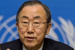 Ban Ki-moon buoyed by climate accord but laments conflicts