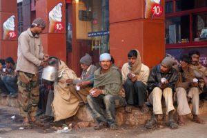 Cold Thursday in Delhi