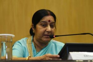 Indian child's custody: Sushma contacts envoy in Norway