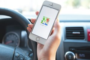 Google Maps app to help find toilets near you