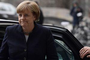 Merkel and the migrant