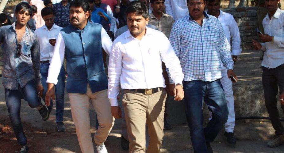 Hardik Patel, Gujarat polls