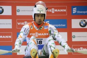 Shiva overcomes injuries to win Asian Luge gold