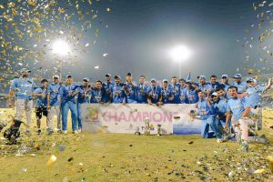 India beat Lanka by 34 runs, clinch U-19 Asia Cup