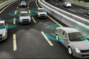 Autonomous trucks in platoons save fuel