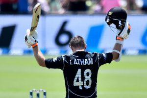 Latham's ton leads New Zealand to comprehensive win