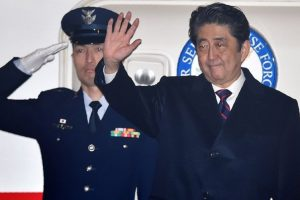 Japanese PM arrives in Hawaii for memorial visit