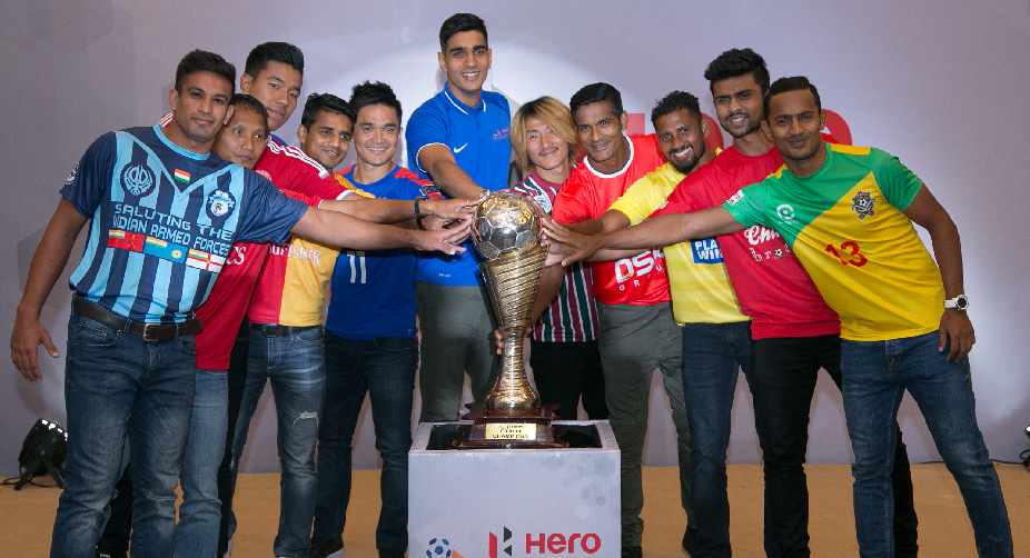 Launch of I-League 2016-17
