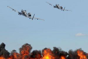 22 killed in Syria airstrikes