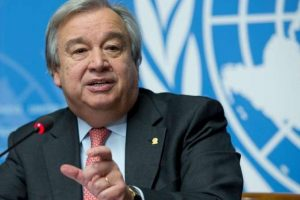 Syrian war 'cancer on a global scale': Guterres