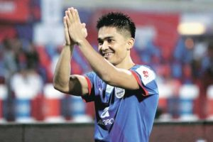 After his finest, Chhetri aims bigger in 2017