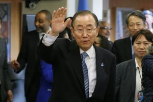 S Korea urged to arrest Ban Ki-moon's brother