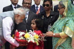 'India, Bangladesh settled border disputes peacefully'