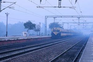 Misty Saturday morning in Delhi, 49 trains delayed