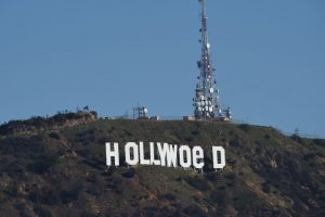 Hollywood sign vandalised to read