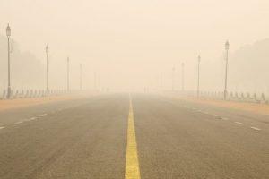 Dense fog on Tuesday in Delhi