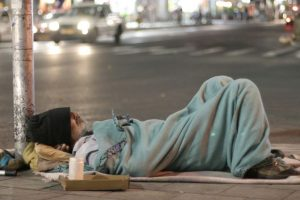 Respecting the rights of homeless people