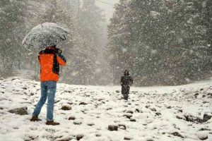 Rain, snow end dry spell in Jammu and Kashmir