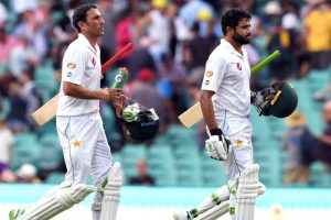 Sydney Test: Azhar, Younis lead Pakistan fightback on Day 2