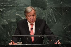 UN chief holds 'very positive' talks with Donald Trump