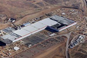 Tesla starts producing batteries at gigafactory