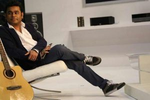 Rahman recreates his iconic track 'Urvashi'
