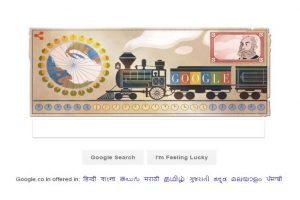 Google Doodle honours inventor of worldwide standard time