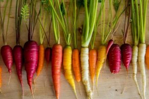 Relish handpicked carrots this winter